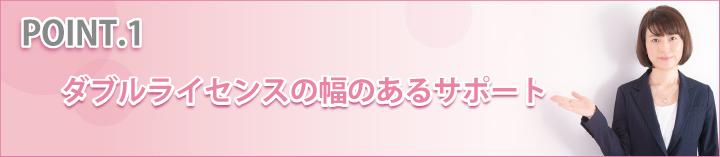 ダブルライセンスの幅のあるサポート田口絵美子司法書士・行政書士事務所